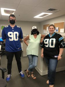sports day customer service team