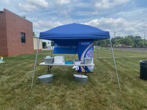 anniversary tent