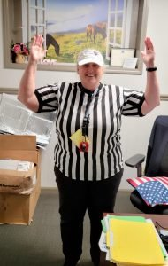 wacky wednesday referee